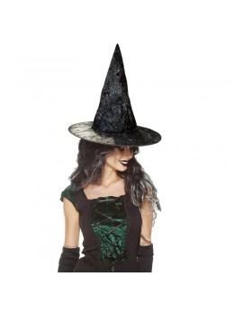 chapeau de sorcière paillettes