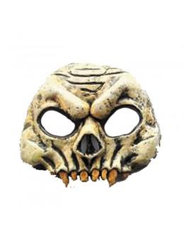 Masque visage de squelette vinyl