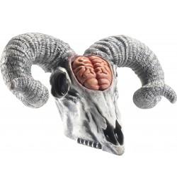 Déco squelette tête de bétail latex