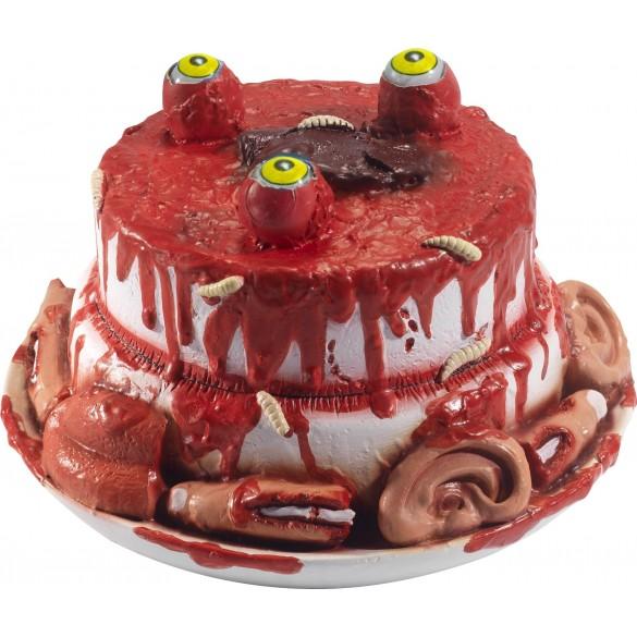 Deco Gore Gateau Morbide Decoration Halloween Fete En Folie