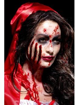 Maquillage cicatrice griffures