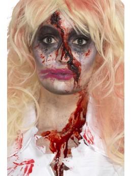 Set maquillage femme zombie sanglante