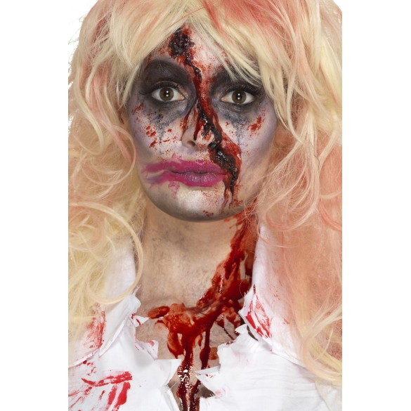 Set Maquillage Femme Zombie Sanglante Vente Kit Pour Halloween Pas