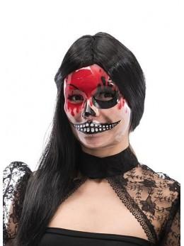 Masque plastique transparent horreur