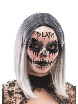 """Masque plastique transparent """"death"""""""