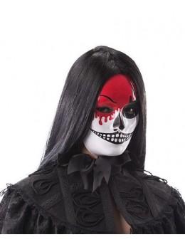 Masque plastique blanc horreur