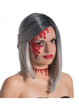 1/2 Masque plastique transparent horreur