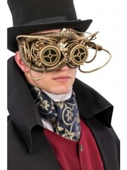 Masque loup steampunk