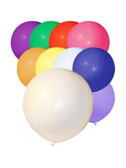 25 ballons multicolores géant 48cm