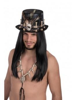 Chapeau haut de forme vaudou