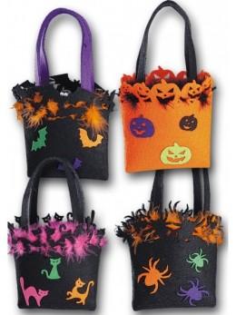 Petit sac d'Halloween en tissu