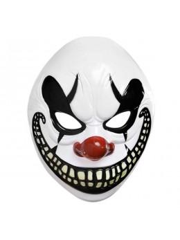 Masque de clown méchant plastique