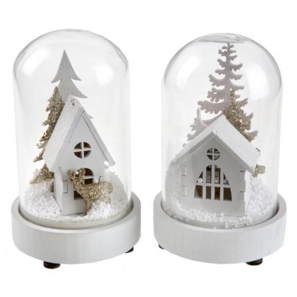 boule neige lumineuse pas cher d co no l. Black Bedroom Furniture Sets. Home Design Ideas