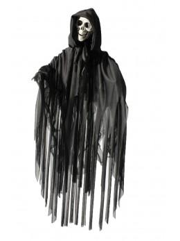 Déco faucheuse noire animée 70cm