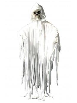 Déco faucheuse blanche animée 70cm