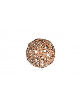 Boule rotin 20 cm