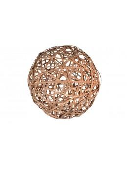 Boule rotin 30 cm