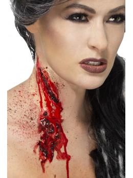 cicatrice gorge tranchée