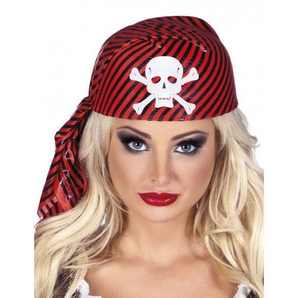 Chapeau pirate rayé