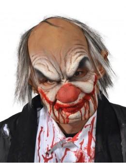 Masque de vieux clown aliéné
