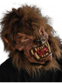 Masque latex loup garou