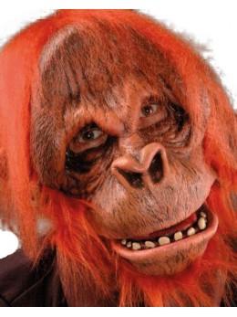 "Masque latex adulte ""orang outang"""