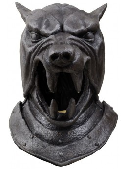 Masque latex adulte Game of Thrones Hound Helmet