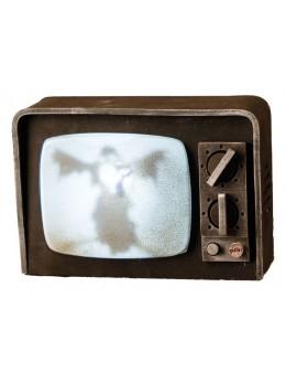 Déco vieux téléviseur son et lumière