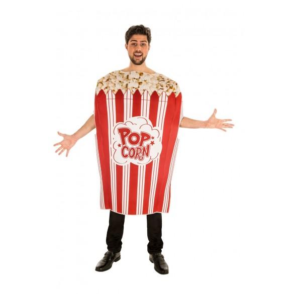 119775e3d9f9e Déguisement de Pop corn adulte : Costume humoristique