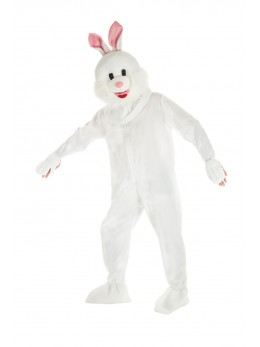Mascotte lapin adulte