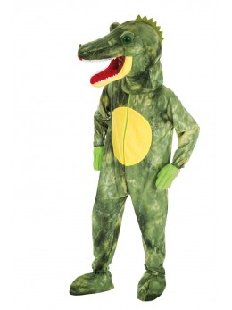 Mascotte crocodile adulte