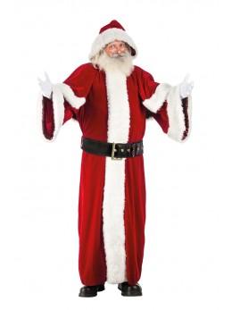 Déguisement Père Noël européen super luxe