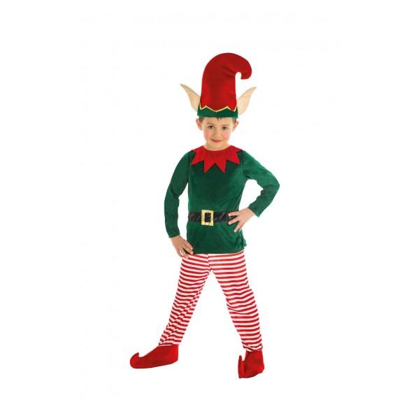 Deguisement Enfant Noel Déguisement lutin de Noël pas cher : Déguisement enfant garçon Noël