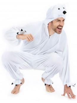 Déguisement ours blanc