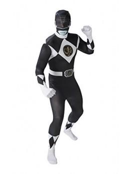Déguisement seconde peau Power Rangers noir