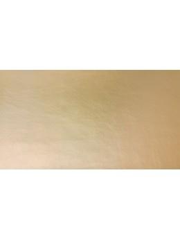 Chemin de table simili cuir or