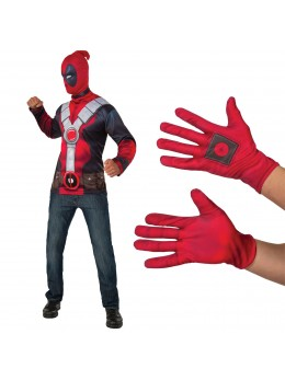 Gants Deadpool™ adulte