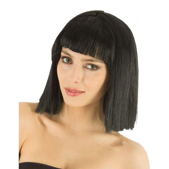 Perruque Crazy noire   Perruque déguisement