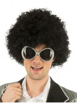 lunettes disco argent