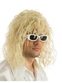 lunettes chanteur blanches