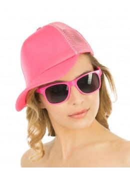 lunettes fluo fuchsia