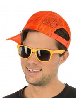 lunettes fluo orange