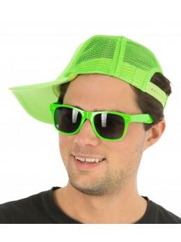lunettes fluo verte