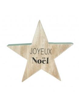 Centre de table étoile Joyeux Noël