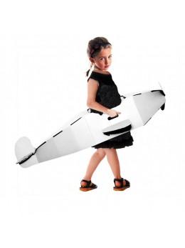 Avion personnalisable en carton pour enfant 120 cm