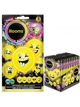 5 Ballons Led Imoji