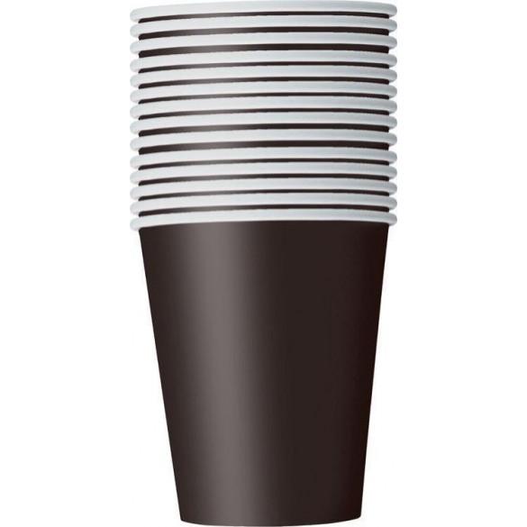 14 gobelets carton noir