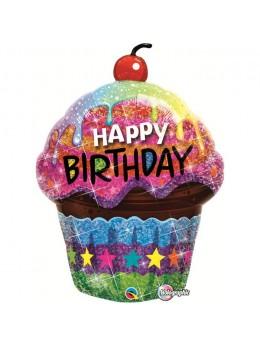 ballon cupcake