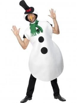 Déguisement bonhomme de neige rigolo