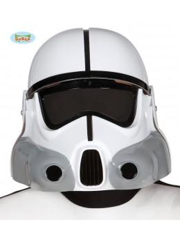 casque de soldat de l'espace